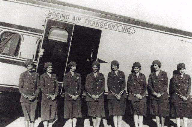 flight attendant history