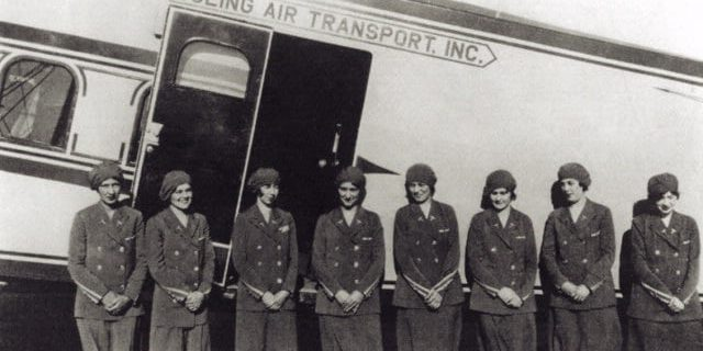 Flight Attendant History The Original Eight